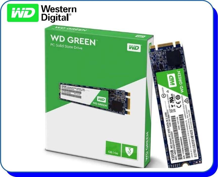 Disco Duro Western Digital SSD M.2 240GB WD Green M2 2280
