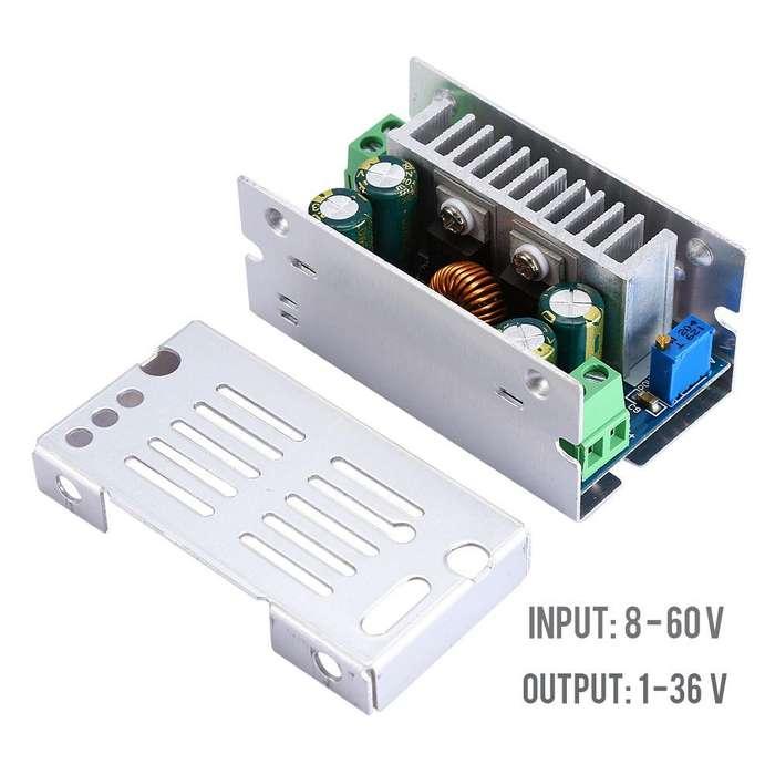 Elevador Corriente Directa 200w 15a Dc Dc 24V A 48V