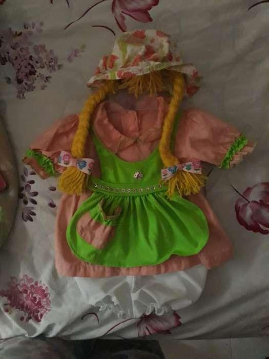 Vestido de Muñeca para Las Bebés