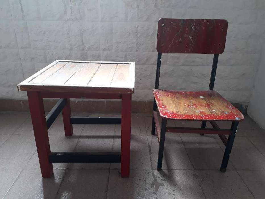 Mesa Y <strong>silla</strong> de Niño.
