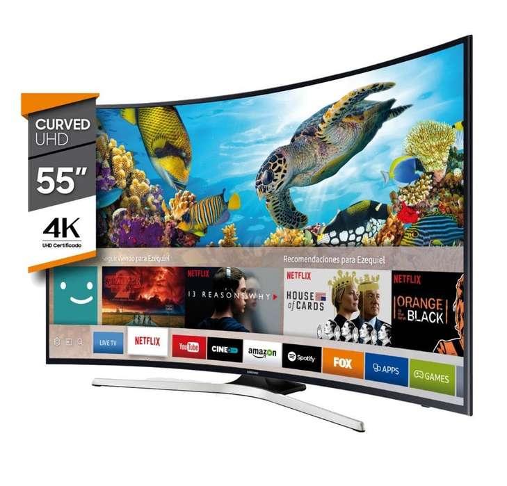 Smart Tv Curve Samsung 55 4k Nuevos
