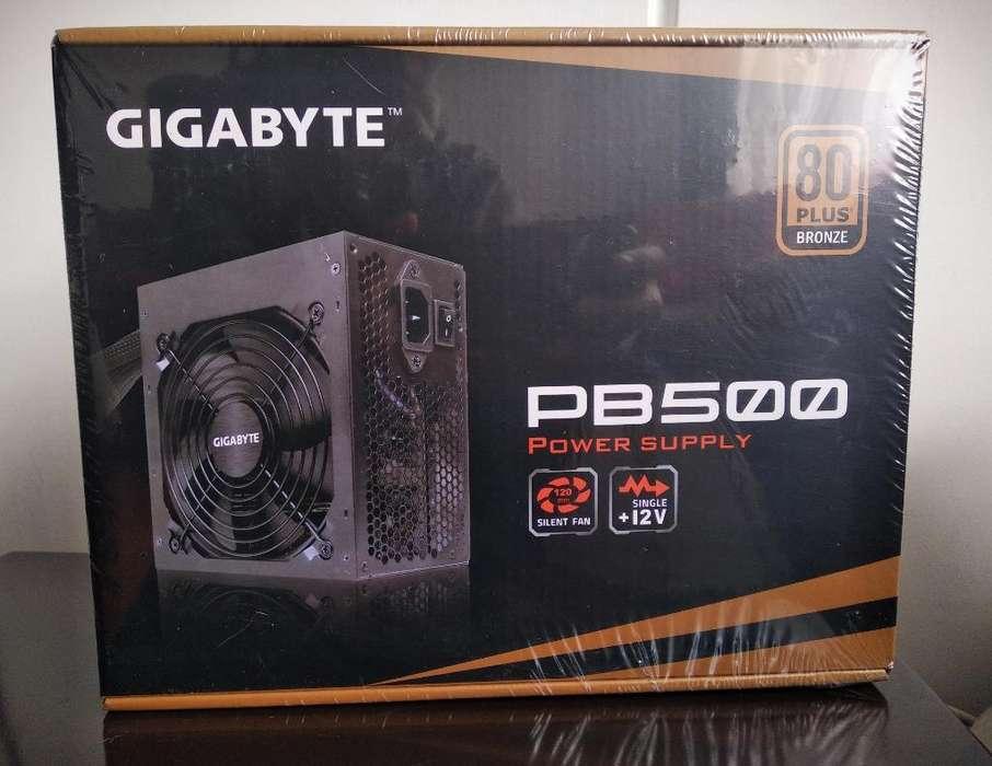 Fuente Gigabyte P500 500w 80plus