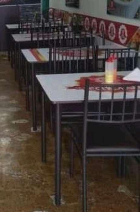 Juego de Mesas Y <strong>silla</strong>s para Restaurante