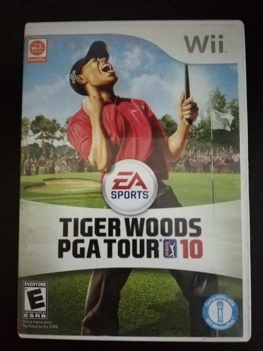 Golf Tiger Woods Wii Wii U Cambio O Vend