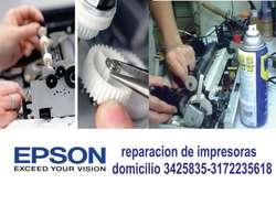 Reparacion y Mantenimiento de Impresoras Cali domicilio 3425835 CEL 3172235618