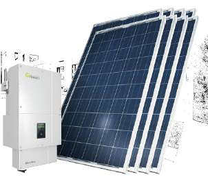 KIT GENERACION ENERGÍA SOLAR 8kWp PC8000-M240