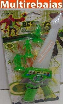 Espada Ben 10 Con 3 Figuras