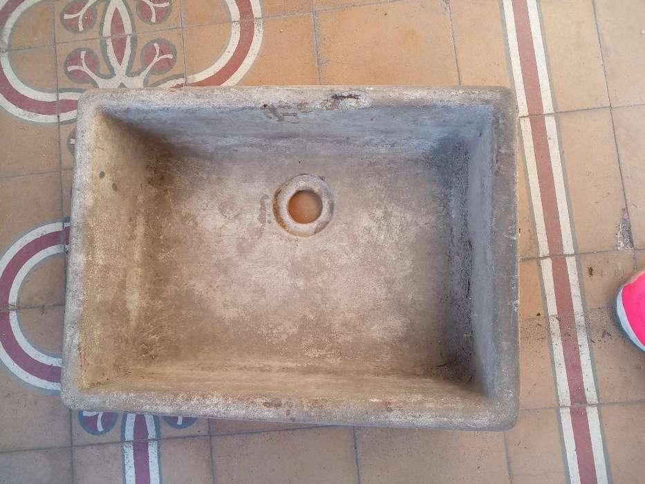 Pileta Bacha de Cemento Vintage