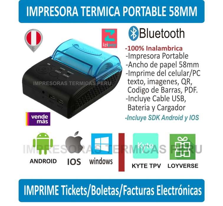 Impresora Termica 58mm Bluetooth Pdf
