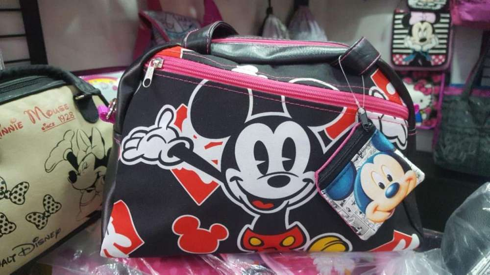 Bolso Mujer Chococat Minnie Mickey Unicornios Moda Origina