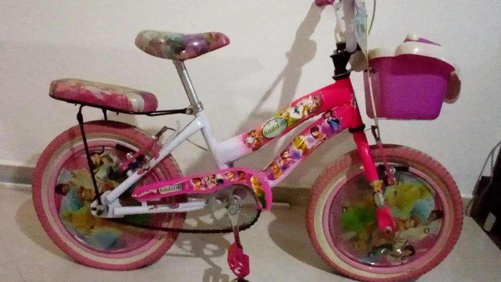 Bicicleta para niña rin 16