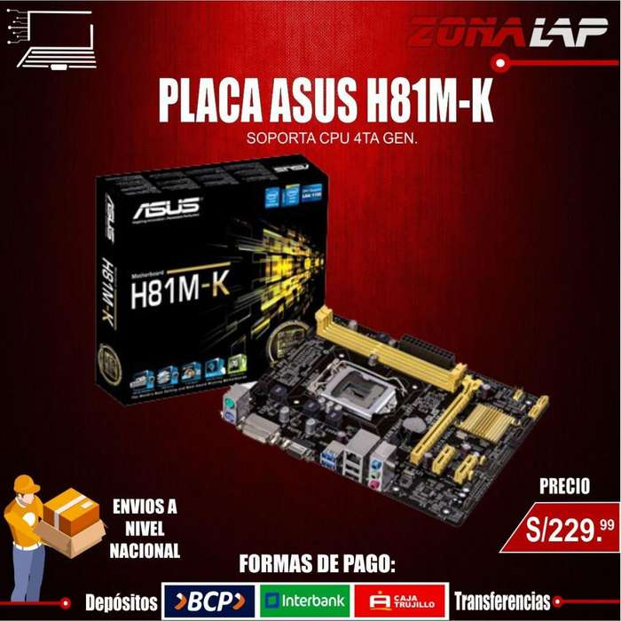 PACA ASUS H81M.K