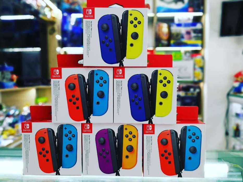 Joy Cons Nintendo Switch Dísponibles