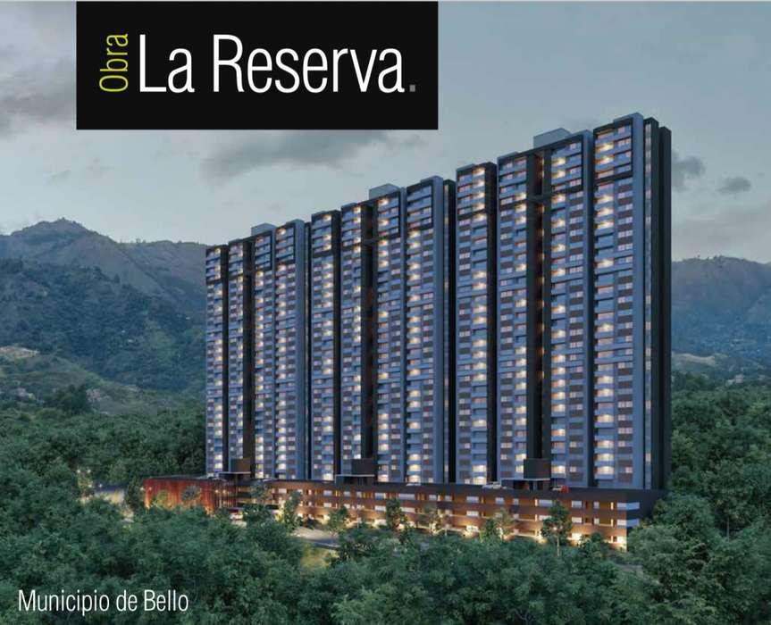 Venta Apartamento en último piso Obra La Reserva con Parqueadero cubierto