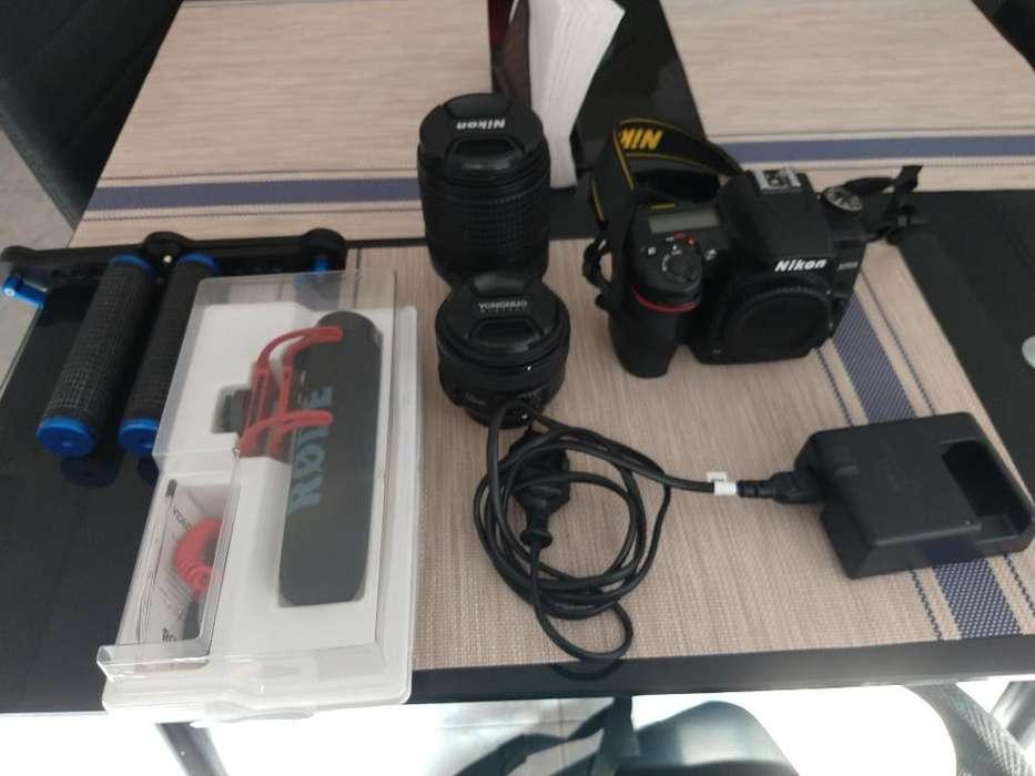Nikon D7500 con <strong>accesorios</strong> Como Nueva