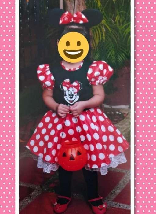 Disfraz de Minnie Disney Talla 4