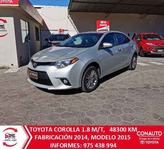 Toyota Corolla 2014 - 48300 km