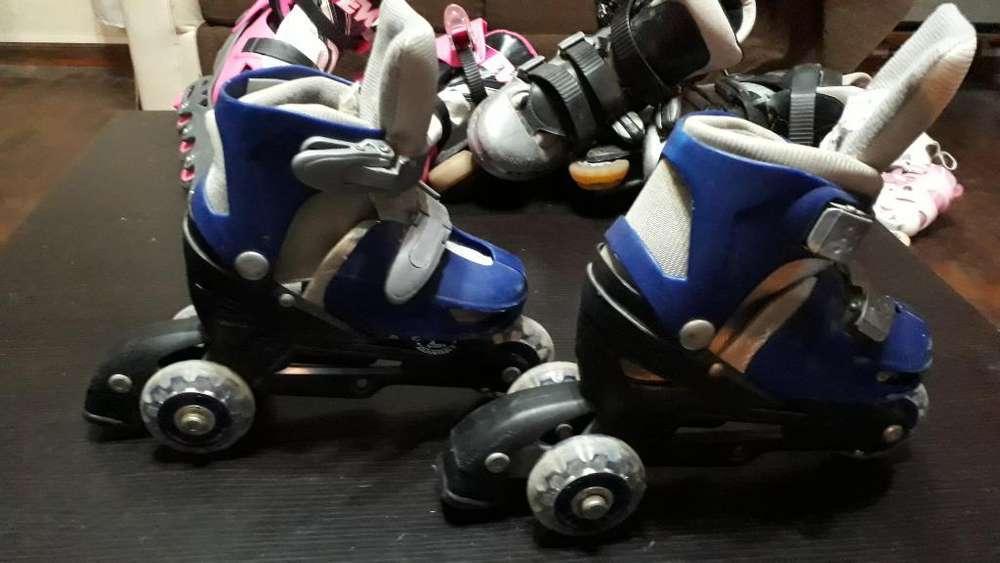 Rollers para Niños Regulables