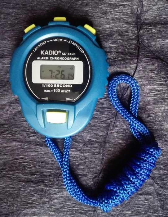 Cronometro Digital Kadio Kd-6128 profesional