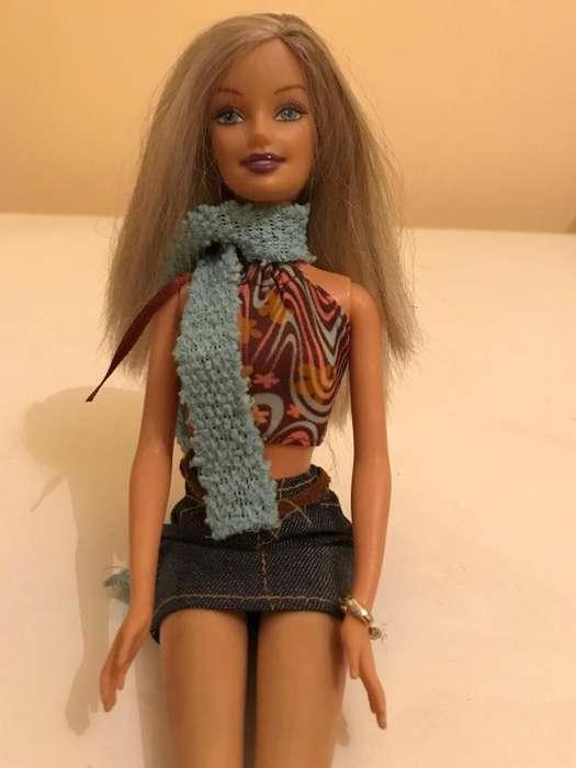 Muñeca Barbie Mattel original