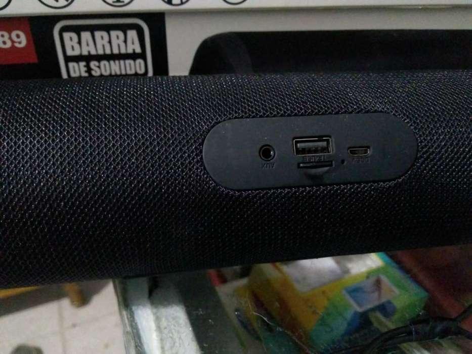 Parlante Barra Bluetooth Y Radio