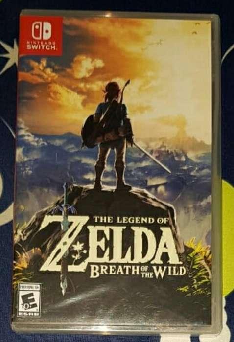 Zelda Botw Switch Nuevos Y Sellados