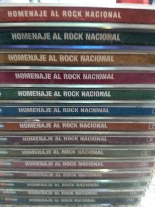 Colección Homenaje Al Rock Nacional.
