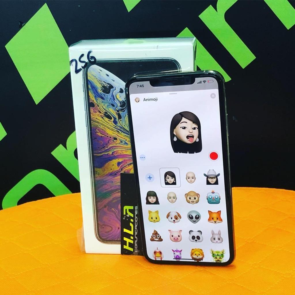 I Phone XS Max 64GB / 256Gb / 512Gb nuevos factura garantia Obsequio HLACOMUNICACIONES