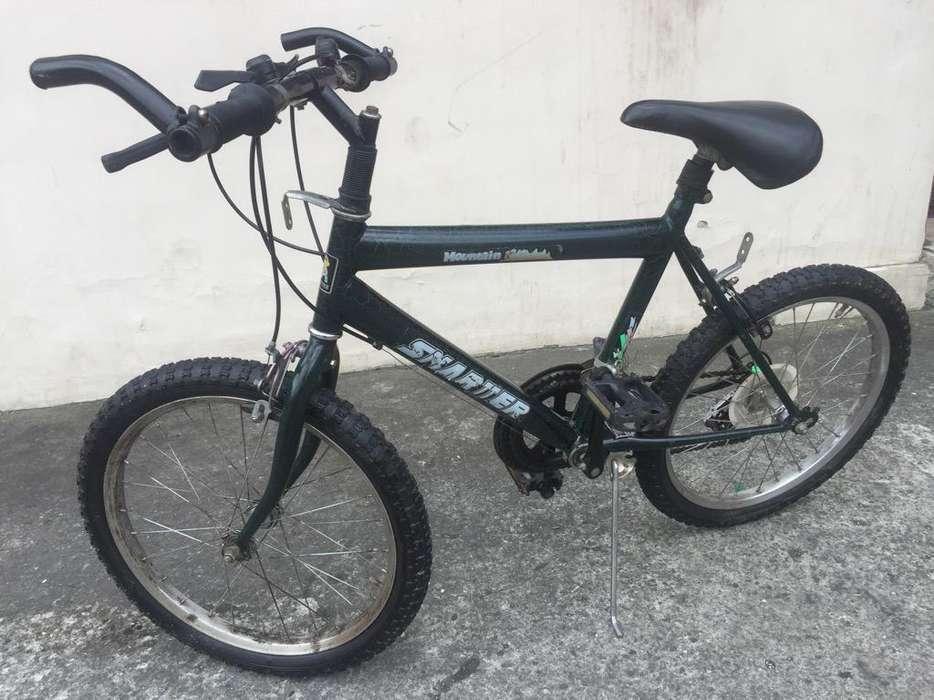 Vendo <strong>bicicleta</strong> Smartter Aro 20