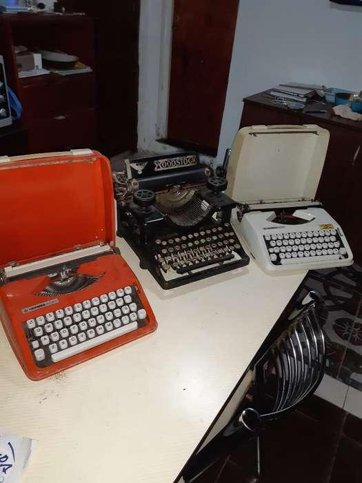 Máquina Escribir Antiguas de Colección