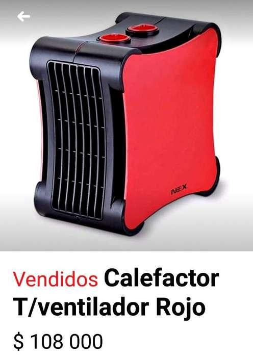 Calefactor Y Ventilador Dos en Uno