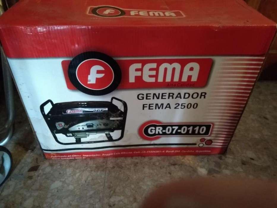 Generador Fema 2500