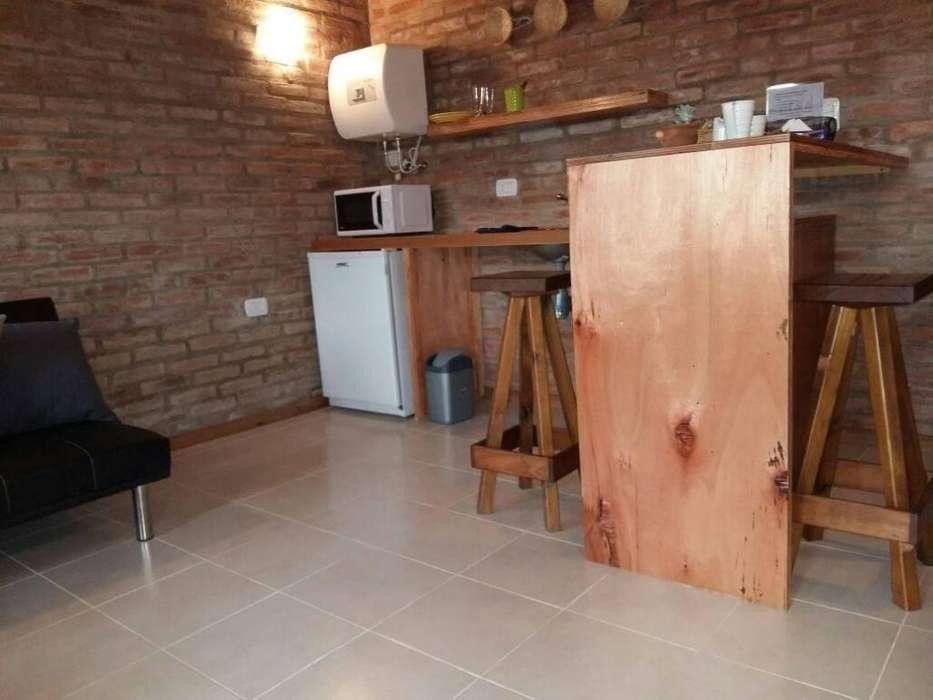 eo18 - Departamento para 1 a 2 personas con pileta y cochera en Miramar