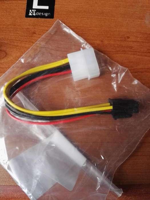 Cable adaptador molex a pciexpres x 6
