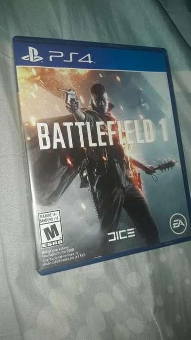 Juego de Play4 battlefield 1