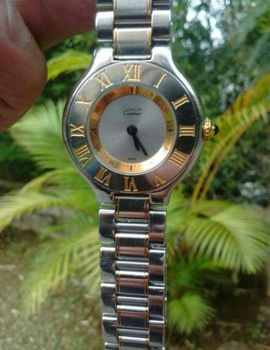 Reloj Cartier Must21