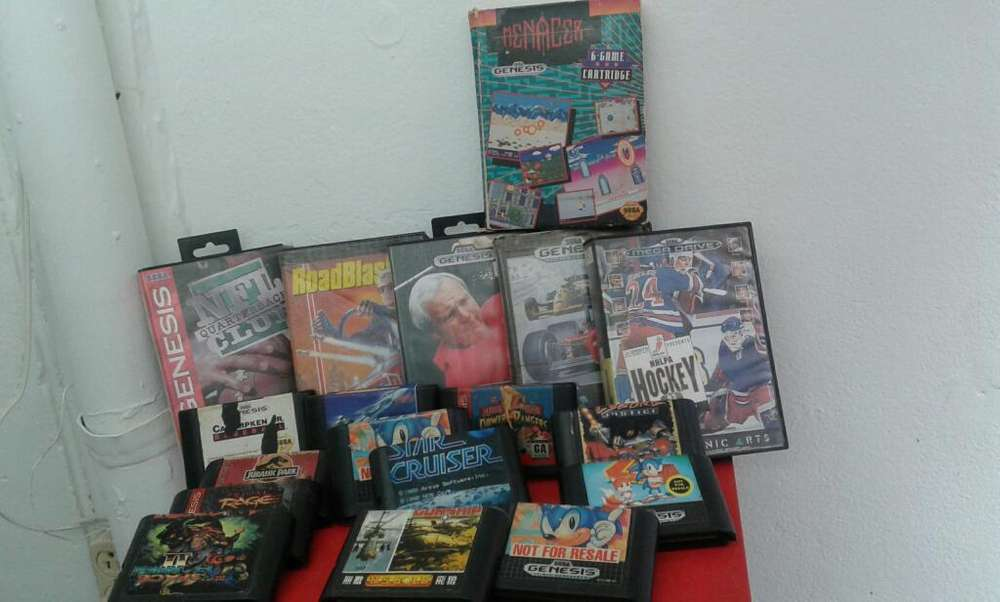Sega Genesis Juegos