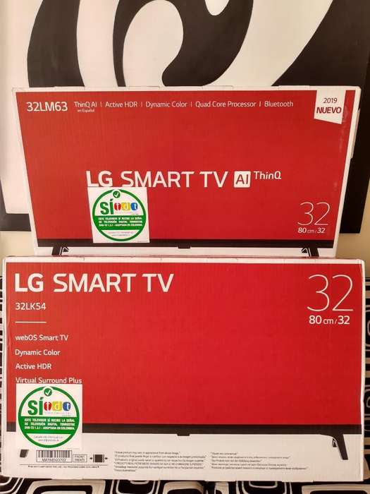 Tv's Lg 32 Pulgadas Led Smart Tv Nuevos