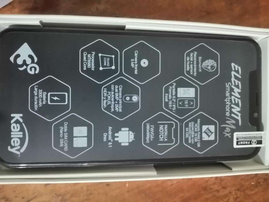 Smartphone Kalley Element Max
