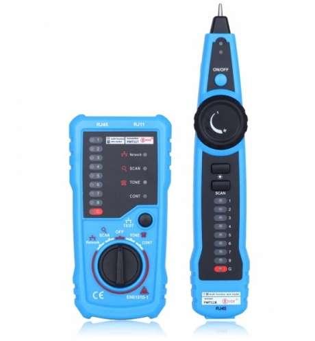 Probador Multifuncional De Telefono Ethernet Lan Rj45rj11