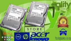 DISCOS SATA DE 250GB..320GB..500GB..640GB..1000TB.MEMORIAS DE 1GB..2GB..4GB