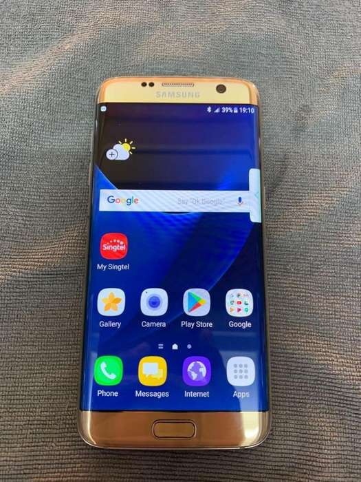 SAMSUNG GALAXY S7 EDGE 32GB 4GB 12MP 3600mAh