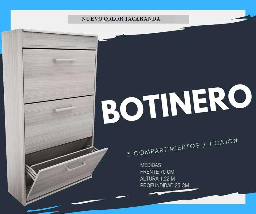 BOTINERO ZAPATERO 3 NIVELES 1 cajon
