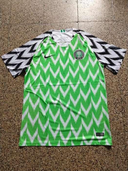 Camiseta Nigeria Suplente 2018