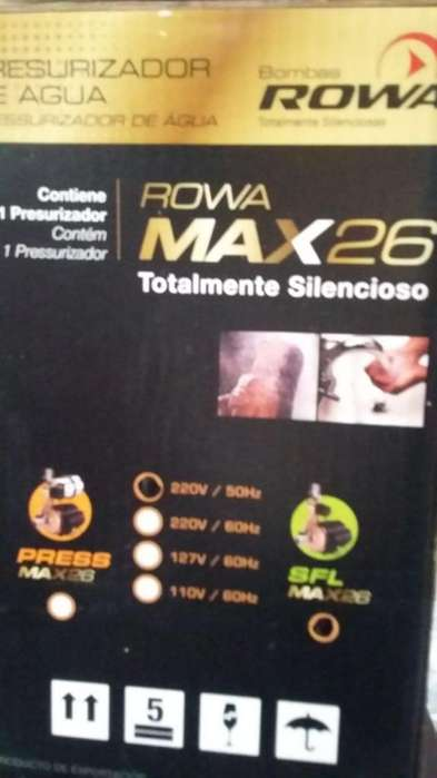 Bomba presurizadora ROWA