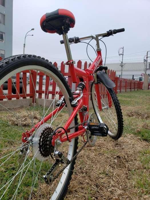 Bicicleta Plegable Aro 26 Db Suspencion