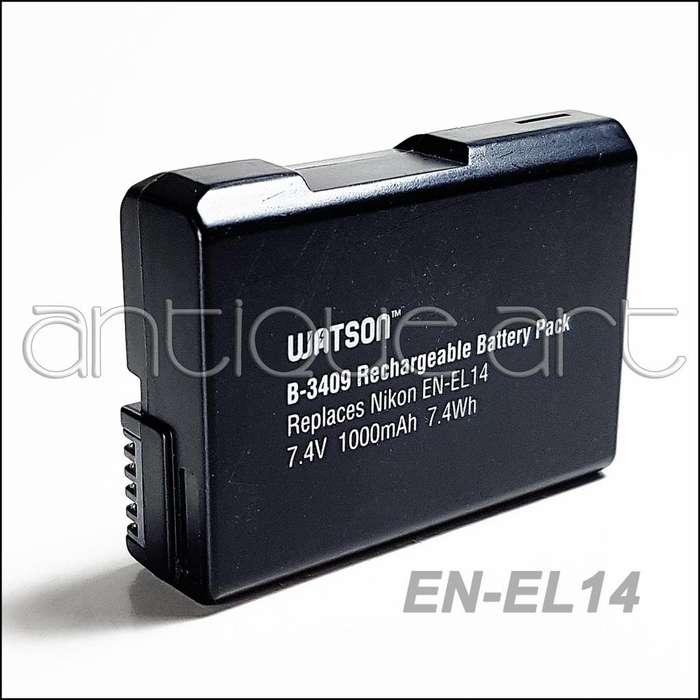 A64 Bateria Nikon En El14 D5600 D5300 D5200 D3100 3200 3300