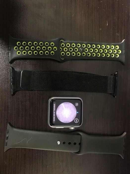 Apple Watch 1 generación 42 mm, libre para uso inmediato, PERFECTO ESTADO