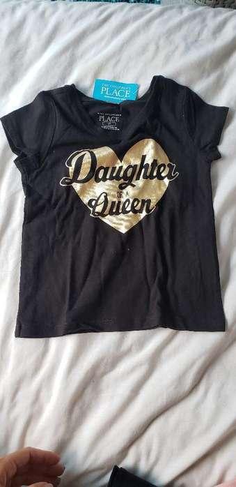 Camiseta Nueva Niña Talla 2