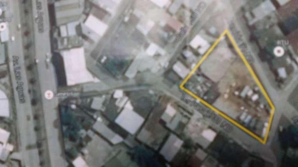 Venta de Terreno Comercial 2000 mts galpon, taller, Urbanor, atras Av Las Aguas, Norte de Guayaquil